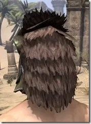 Khajiit Orichalc Helm - Male Rear