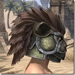 Khajiit Orichalc Helm - Male Right
