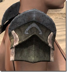 Khajiit Orichalc Pauldron - Female Right