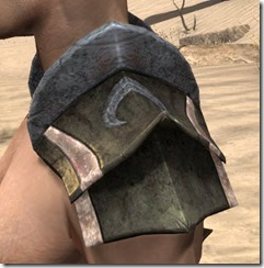 Khajiit Orichalc Pauldron - Male Side