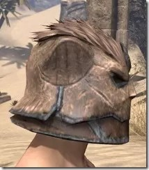 Khajiit Steel Helm - Male Right