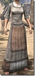 Layered Long Dress - Female Front