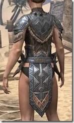 Malacath Iron Cuirass - Female Rear