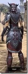 Malacath Iron - Dyed Rear