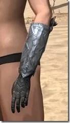 Malacath Iron Gauntlets - Female Side
