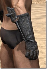 Malacath Iron Gauntlets - Male Right