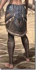 Malacath Iron Greaves - Female Rear