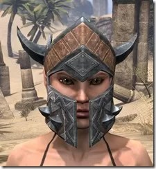 Malacath Iron Helm - Female Front