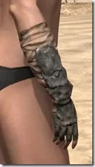 Morag Tong Iron Gauntlets - Female Right