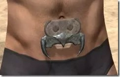 Morag Tong Iron Girdle - Male Front