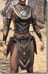 Nord Dwarven Cuirass - Female Front