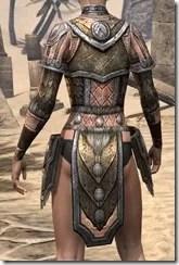 Nord Dwarven Cuirass - Female Rear