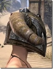 Nord Dwarven Helm - Female Right
