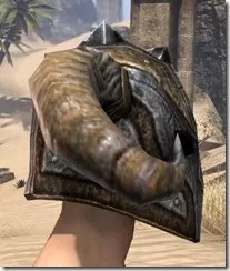 Nord Dwarven Helm - Male Right
