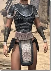 Nord Iron Cuirass - Female Front