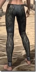 Nord Iron Greaves - Female Rear