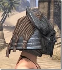 Silken Ring Iron Helm - Female Right