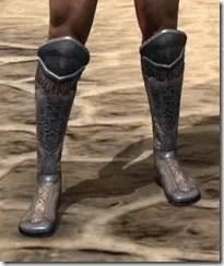 Silken Ring Iron Sabatons - Male Front