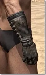 Stitched Long Gloves - Male Right