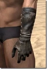 Stitched Long Gloves - Male Side