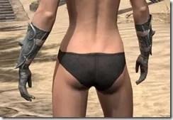 Telvanni Iron Gauntlets - Female Rear