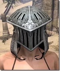 Telvanni Iron Helm - Female Front