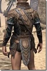 Wood Elf Dwarven Cuirass - Male Rear