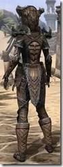 Wood Elf Dwarven - Female Rear