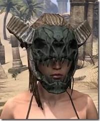 Wood Elf Dwarven Helm - Female Front