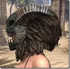 Wood Elf Dwarven Helm - Female Side