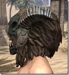 Wood Elf Dwarven Helm - Male Side