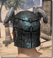Wood Elf Orichalc Helm - Male Rear