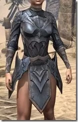 Xivkyn Iron Cuirass - Female Front