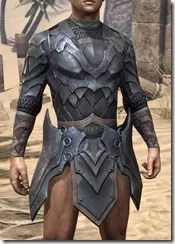 Xivkyn Iron Cuirass - Male Front
