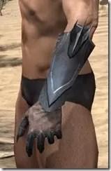 Xivkyn Iron Gauntlets - Male Side