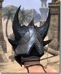 Xivkyn Iron Helm - Female Rear