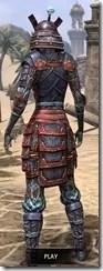 Akaviri Iron - Dyed Rear