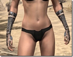 Akaviri Iron Gauntlets - Female Front