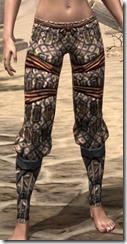 Akaviri Iron Greaves - Female Front