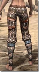 Akaviri Iron Greaves - Female Rear