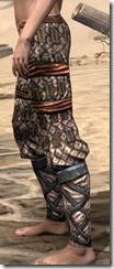 Akaviri Iron Greaves - Female Side
