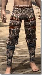 Akaviri Iron Greaves - Male Front