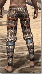 Akaviri Iron Greaves - Male Rear