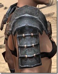 Akaviri Iron Pauldron - Female Right