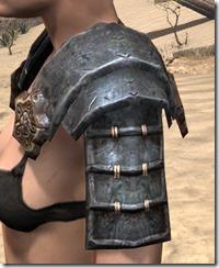 Akaviri Iron Pauldron - Female Side