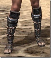 Akaviri Iron Sabatons - Female Front