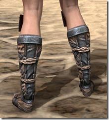 Akaviri Iron Sabatons - Female Rear