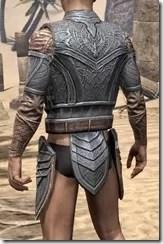 Aldmeri Dominion Iron Cuirass - Male Rear