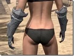 Aldmeri Dominion Iron Gauntlets - Female Rear