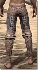 Aldmeri Dominion Iron Greaves - Male Rear